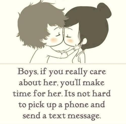 really cared about me not hard pick phone and text